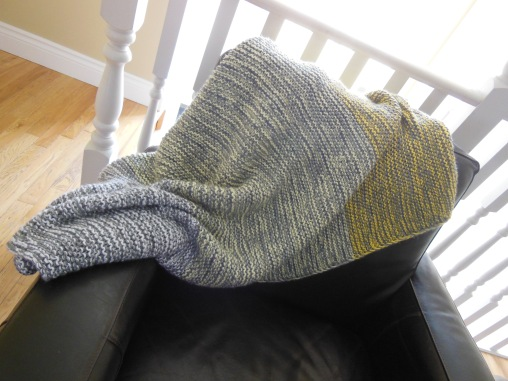 Cozy Garter Stitch Blanket