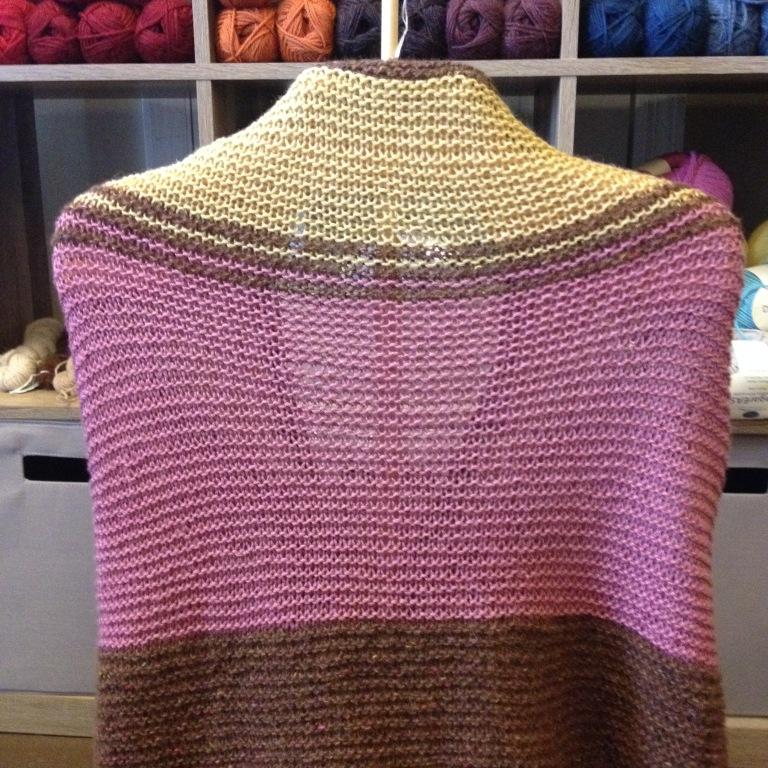 nancy's finished shawl back