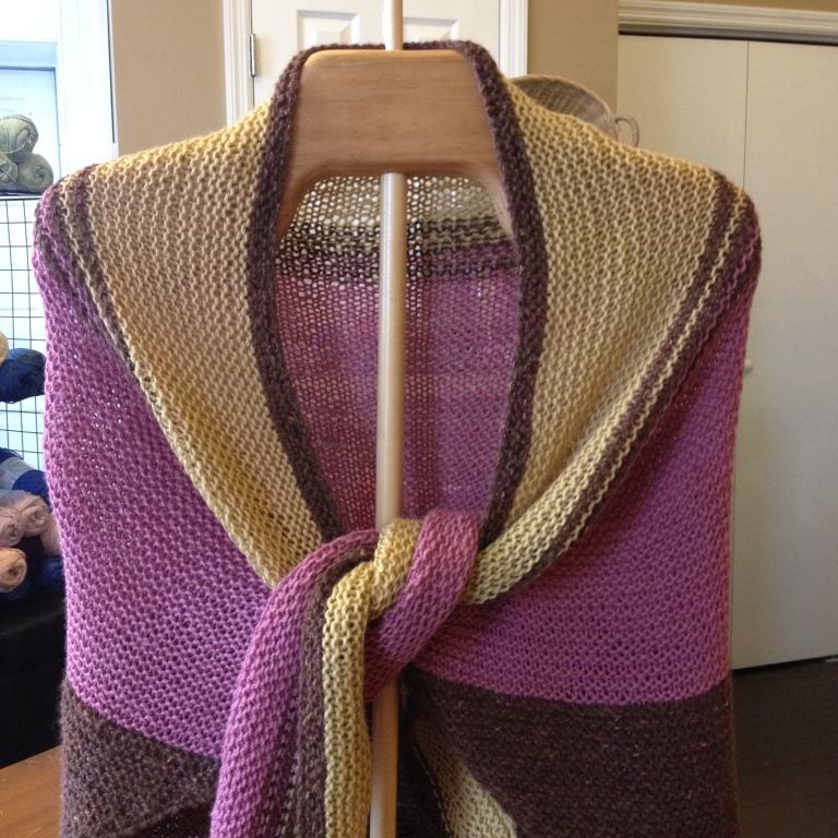 nancy's finished shawl